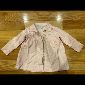 Burberry long sleeve size 18M (100% authentic)